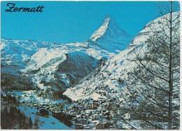 Zermatt, Switzerland, Used Postcard [22196] - VS Valais