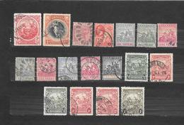 BARBADOS  18 STAMPS USATI  Lot Lotto - Barbados (...-1966)