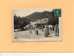 Carte Postale - DELLYS - Marché Et Rue Jouyne - Postcards