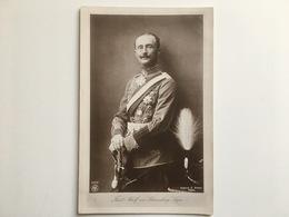 AK Furst Adolf Zu Schaumburg Lippe Uniform Orden Medaillen Husar Husaren Husaar Huzaar - Königshäuser