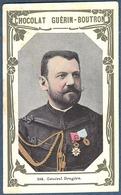 Chromo Chocolat Guerin-Boutron Livre D'or Célébrités Contemporaines - 106 Général Brugère Grand Croix Legion D'honneur - Guerin Boutron