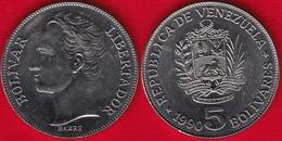 Venezuela 5 Bolivares 1990 Y#53a UNC - Venezuela
