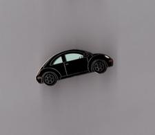 Pin's Voiture Citroen 2 CV Chevaux Noire (EGF) Longueur: 3,2 Cm - Citroën