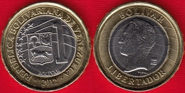 Venezuela 1 Bolivar 2012 Y#93 BiMetallic UNC - Venezuela