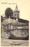 ARLON - Escalier Et Eglise St-Donat - Aarlen