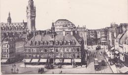 CPA - 9. LILLE Vue D'ensemble Sur L'ancienne Et La Nouvelle Bourse - Lille