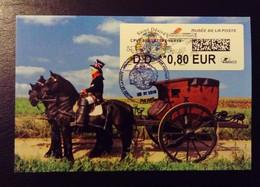 Lisa2, MUSÉE De La Poste , DD 0.80€, ST Désiré, Saint Patron Des Postiers, Carte MAXIMUM, Fdc,  6/11/2018 - FDC