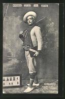 AK Homme Avec La Tete, Iesse Branoani, Globe-trotter Celebre, Expedition - Postcards