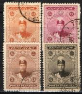 IRAN - 1924 - Ahmed Shah Qajar - USATI - Iran