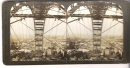 """Looking Through The """"Big Wheel Of Paris"""" , Paris, Exposition Of 1900 (S035) - Stereoscopic"""