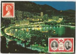 8Eb-218: TA. 12.101 - Principauté De Monaco Vue De Niot Sur Le Port > Basèclles 1974 - Monaco