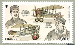 France 2018 - Ichel COIFFARD -  Maurice BOYAU ** (poste Aérienne) - Unused Stamps