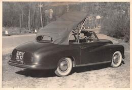 "07593 ""FIAT 1400 CABRIOLET, ANNI '50"" FOTOGR. ORIG. - Automobiles"