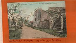 CPA TONKIN VIEUX HANOÏ  1889  Porte Est  Intérieur De La Citadelle    NTimbre INDO-CHINE Non Oblitéré  OV  2017 313 - Vietnam
