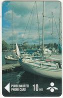 FINLAND - Boat, Purjeveneet, Savonlinnan Puhelin Telecard, CN : 6010, Tirage 5000, Exp. Date 06/99, Used - Finland