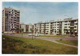 """GARGES LES GONESSES --1972--Cité """"La Dame Blanche ,allée G.Courbet (voitures  Dont Citroen 2CV...)--timbre-cachet - Garges Les Gonesses"""