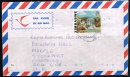 ZIMBABWE - Lettre à Destination Grande-Bretagne - Zimbabwe (1980-...)