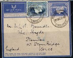 RHODESIE DU SUD/SOUTHERN RHODESIA / Partie D'entier Postal Avec Complément Du 12/02/1947 - Rhodésie Du Sud (...-1964)