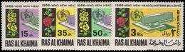 Ras Al Khaima 1966 WHO HQ Unmounted Mint. - Ras Al-Khaima