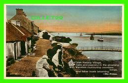 IRLANDE - AM IRISH FISHING VILLAGE BY EVA BRENNAN - VALENTINE & SONS LTD - - Irlande