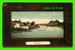 DUMBARTON, SCOTLAND - RIVER LEVEN, ANIMATED - TRAVEL IN 1919 - ARTLETTE-GLAZETTE SERIES - - Dunbartonshire