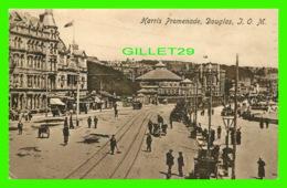 DOUGLAS, ILE DE MANCHE - HARRIS PROMENADE - ANIMATED - TRAVEL IN 1922 - - Iles De La Manche