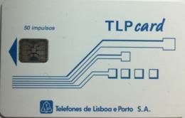 TLP L : LP20 Schlum. (SI5) TLPcard 50 Imp WITH BATCHNR USED - Portugal
