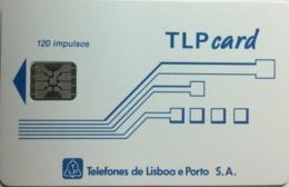 TLP L : LP21 Schlum. (SI5) TLPcard 120imp WITH BATCHNR USED - Portugal