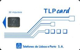 TLP L : LP22 Schlum. (SI6) TLPcard 50 Imp USED - Portugal