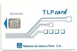 TLP L : LP23 Schlum. (SI6) TLPcard 120imp USED - Portogallo