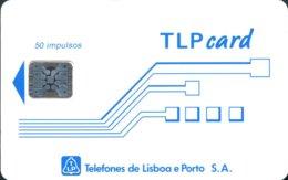TLP L : LP27 Schlum. (SI5) TLPcard 50 ST/N USED - Portugal