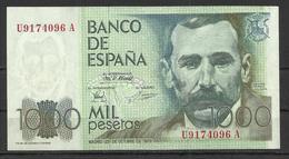 Spain 1000 Pesetas 1979  VF - [ 4] 1975-… : Juan Carlos I
