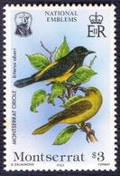 MONTSERAT - NATIONAL  EMBLEMS - **MNH - 1985 - Stamps