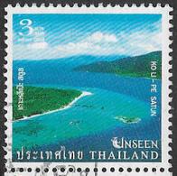 Thailand 2004 Unseen Thailand 3b Type 4 Good/fine Used [38/31607/ND] - Thailand