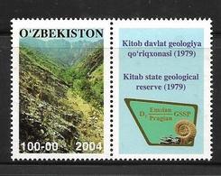 OUZBEKISTAN 2004 RESERVE GEOLOGIQUE DE KITAB  YVERT N°477  NEUF MNH** - Uzbekistan
