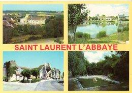 Saint Laurent L'abbaye Vue Generale Le Grand Crot La Fontaine Treleau  CPM Ou CPSM - France