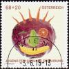 AUSTRIA ÖSTERREICH 2015  Jugend Für Gesunde Ernährung  USED/O/ GESTEMPELT - 1945-.... 2. Republik