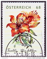 "Austria Österreich 2016  Treuemarke 2015 ""Feuerlilie"""" USED / O / GESTEMPELT - 1945-.... 2. Republik"