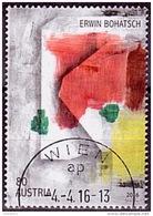 Austria Österreich 2016 Zeitgenössische Kunst - Erwin Bohatsch  USED / O / GESTEMPELT - 1945-.... 2. Republik
