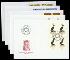 1994, Liechtenstein, 1079-80 U.a., FDC - Liechtenstein