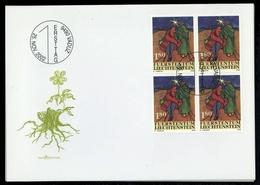 2002, Liechtenstein, 1304-06, FDC - Liechtenstein