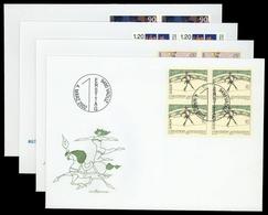 2002, Liechtenstein, 1283-84 U.a., FDC - Liechtenstein