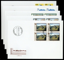 2002, Liechtenstein, 1286-88 U.a., FDC - Liechtenstein