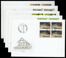 2002, Liechtenstein, 1294-95 U.a., FDC - Liechtenstein