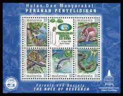 2000, Malaysia, Block 46 A, ** - Malaysia (1964-...)