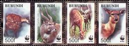 2004, Burundi, 1867-70, ** - Burundi