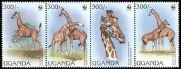 1997, Uganda, 1790-93, ** - Uganda (1962-...)