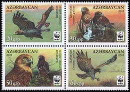 2011, Aserbeidschan, 893-96, ** - Aserbaidschan