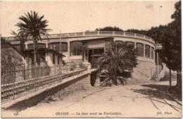4SKS 938. GRASSE - LA GARE NORD AU FUNICULAIRE - Grasse