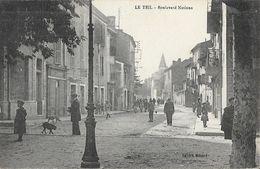 Le Teil (Ardèche) - Boulevard Nations - Edition Ménard - Le Teil